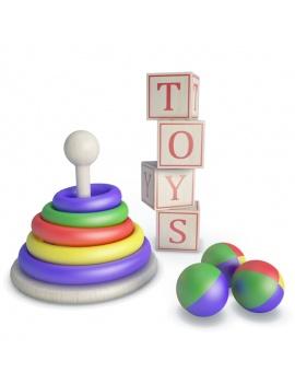 collection-de-jeux-d-enfants-en-bois-3d-anneaux-cubes