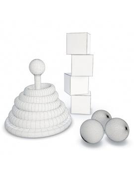collection-de-jeux-d-enfants-en-bois-3d-anneaux-cubes-filaire