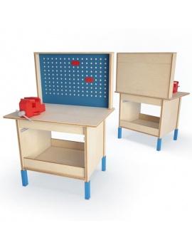 collection-de-jeux-d-enfants-3d-table-travail