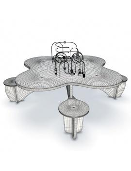 collection-de-jeux-d-enfants-3d-table-éducative-filaire
