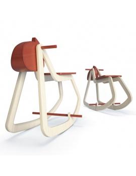 collection-de-jeux-d-enfants-3d-cheval-bascule