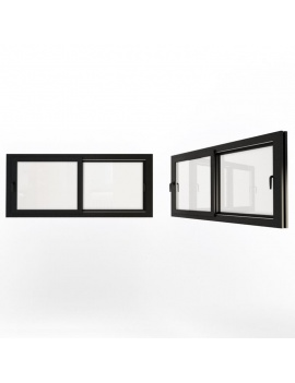 doors-and-windows-collection-3d-double-sliding-black-windows