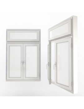doors-and-windows-collection-3d-double-white-windows-02