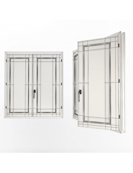 doors-and-windows-collection-3d-double-wooden-windows-03-wireframe