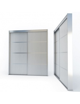 doors-and-windows-collection-3d-metallic-sliding-closet-door