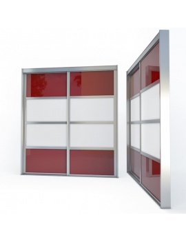 doors-and-windows-collection-3d-metallic-sliding-closet-door03
