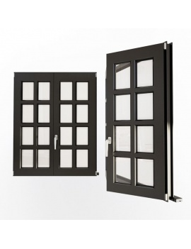 doors-and-windows-collection-3d-multipan-black-windows