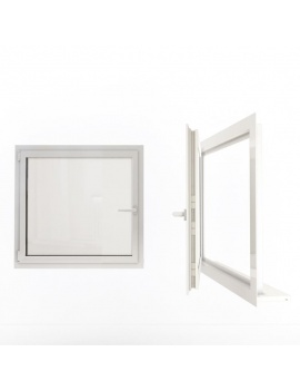 doors-and-windows-collection-3d-simple-white-windows
