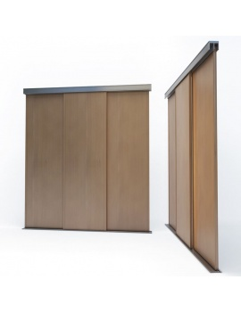 doors-and-windows-collection-3d-wooden-sliding-closet-door-01