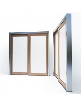 doors-and-windows-collection-3d-wooden-sliding-door-03