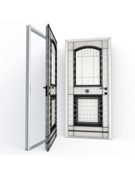 doors-collection-3d-audierne-wireframe