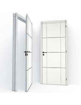 doors-collection-3d-faustine-wireframe