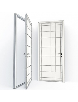 doors-collection-3d-hygie-wireframe