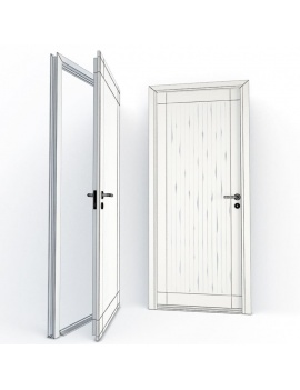 doors-collection-3d-aube-wireframe
