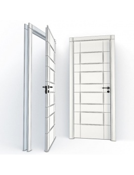 doors-collection-3d-eglantine-wireframe