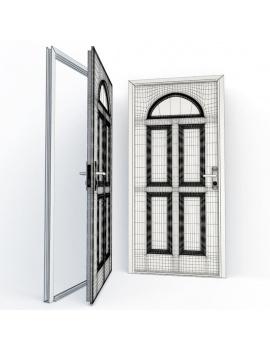 doors-collection-3d-ignac-wireframe