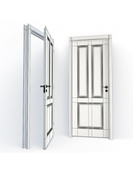 doors-collection-3d-nadine-wireframe