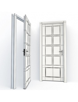 doors-collection-3d-corinne-wireframe
