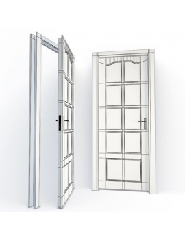 doors-collection-3d-delphine-wireframe