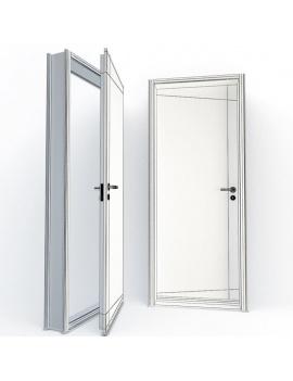 doors-collection-3d-secret-wireframe