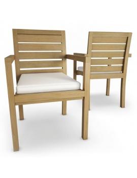 mobilier-exterieur-siena-manutti-modeles-3d-chaise