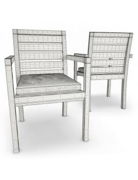 mobilier-exterieur-siena-manutti-modeles-3d-chaise-filaire