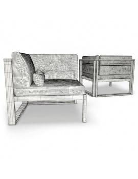 mobilier-exterieur-siena-manutti-modeles-3d-module-angle-filaire