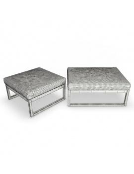 mobilier-exterieur-siena-manutti-modeles-3d-pouf-filaire
