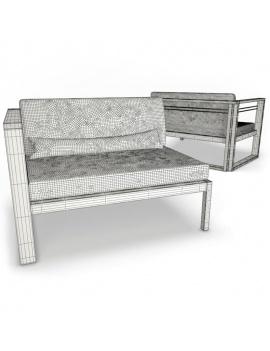 mobilier-exterieur-siena-manutti-modeles-3d-module-angle-bout-filaire
