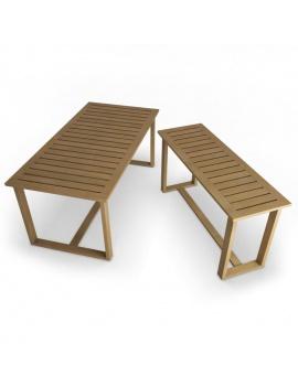 mobilier-exterieur-siena-manutti-modeles-3d-table-rectangulaire