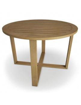 mobilier-exterieur-siena-manutti-modeles-3d-table-ronde