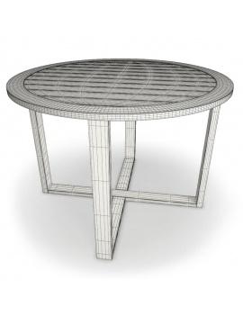 mobilier-exterieur-siena-manutti-modeles-3d-table-ronde-filaire