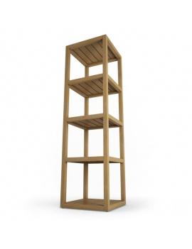 mobilier-exterieur-siena-manutti-modeles-3d-étagère
