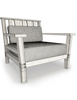 york-collection-wood-furniture-3d-armchair-wireframe