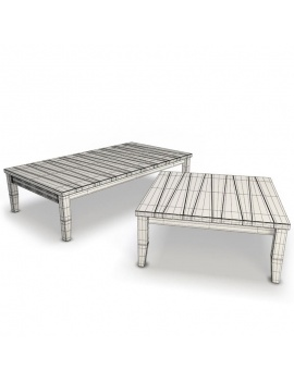 york-collection-wood-furniture-3d-tables-wireframe