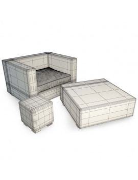 outdoor-braided-furniture-3d-cube-armchair-table-wireframe