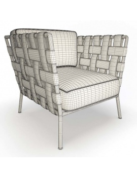 outdoor-braided-furniture-3d-conic-armchair-wireframe