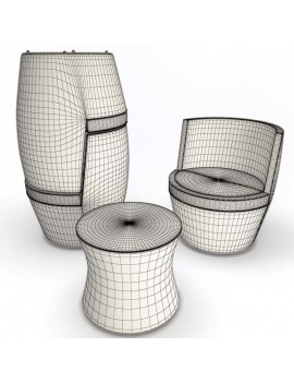 outdoor-braided-furniture-3d-antibes-set-wireframe