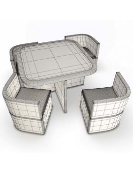outdoor-braided-furniture-3d-wicker-table-set-wireframe