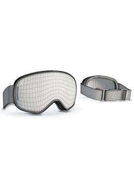 collection-de-materiel-de-sport-d-hiver-3d-masque-filaire