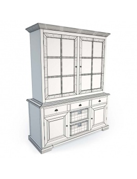 luberon-collection-3d-dresser-wireframe