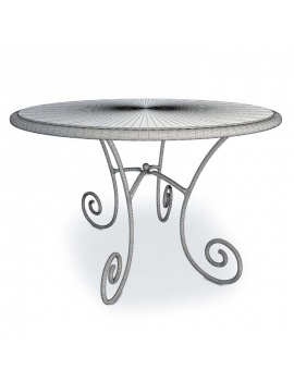 luberon-iron-and-wooden-furniture-3d-round-table-wireframe