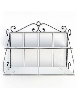 luberon-iron-and-wooden-furniture-3d-wall-shelf-wireframe