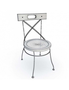 luberon-collection-3d-chair-wireframe