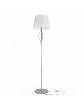 collection-lampe-baroque-en-cristal-3d-lampadaire