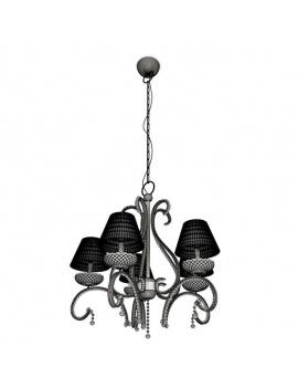 collection-lampe-baroque-en-cristal-3d-suspension-filaire