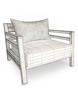 outdoor-costes-wooden-furniture-3d-armchair-wireframe