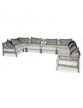 outdoor-costes-wooden-furniture-3d-sofa-angle-wireframe