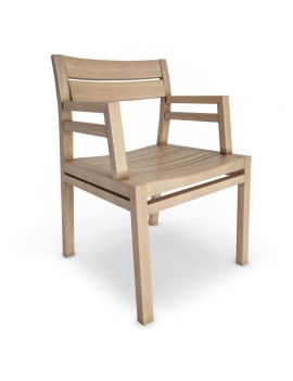 outdoor-costes-wooden-furniture-3d-chair