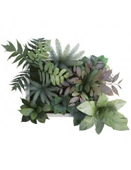 collection-de-plantes-et-fleurs-3d-tableau-vegetal-2